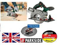NEW PARKSIDE 20 VOLT 20V CORDLESS CIRCULAR SAW BARE UNIT ONLY WITH LAGER GUIDE