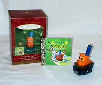 2000 Hallmark Keepsake SCUFFY the TUGBOAT Little Golden Book Christmas Ornament