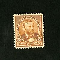 US Stamps # 223 Superb OG Hinged