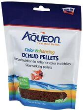 Aqueon Cichlid Color Enhancing Fish Food 4.5 ounces. Natural Color & Ingredients