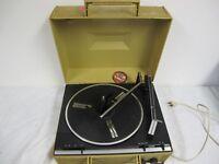 RCA VIBRA PHONOGRAPH VINTAGE PORTABLE RECORD PLAYER