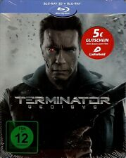 Terminator: Genisys Limited Edition Embossed SteelBook (Region Free German Imp.)