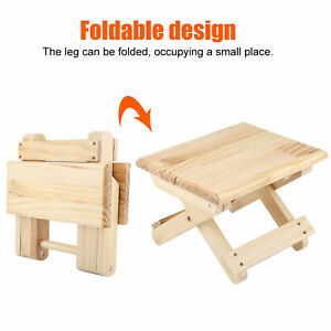 Fine Workmanship Wood Small Bench Sturdy Table Legs Rural Styles Bench Slack