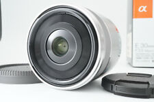 [Top Mint box] Sony SEL30M35 30mm F/3.5 Aspherical ED Lens For E Mount F/S #753