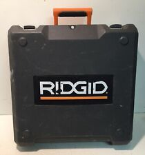 Plastic Storage Case Box Fits Ridgid Cordless Drill R841151 Kit W/ Side Handle