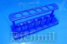 Six trous bouillante/test tube rack/support/holder/6 séchage rack/plastique