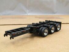 Diecast Masters 1/50 CUSTOM black tri axle booster/stinger