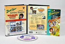 BOB ROSS DVD: Teaching Oil Painting, Getting Started in WILDLIFE w/ BEA COX