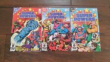 SUPER POWERS (1984) lot 1 2 4 NM Near Mint. Kirby Batman Joker Superman Aquaman