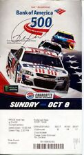 Ray Evernham Nascar HOF Signed Autograph RARE 2017 Bank Of America 500 Ticket