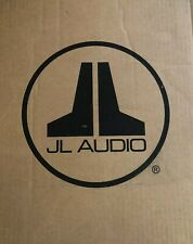JL Audio CS210LG-TW1 Dual Shallow Subwoofer 10TW1 PowerWedge Sealed 2Ω Sub Box