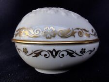 Floral Ivory Colored Collector Egg Limited Edition by Lenox