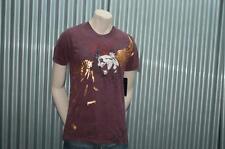 Ve'cel S/S T-Shirt Maroon Foil Bullets Vecel Tee $65 XXL