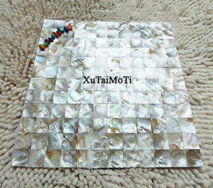 11PCS shell mosaic mother of pearl kitchen backsplash bathroom wall pool tile