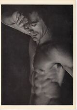 Michael Gibson Homme Nu Male Nude artiste AK ~ 1987 Gay Ver