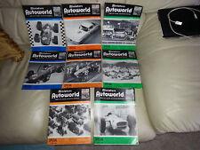 Original Miniature Autoworld before Miniature Auto mags 1965-66 slot cars.8-avai