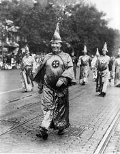 8x10 Print KKK Ku Klux Klan Dr H.W. Evans Imperial Wizard Parade 1926 #KK93