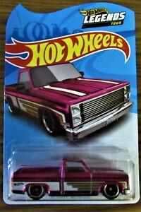 Hot Wheels Legends Tour 83 Chevy Silverado