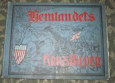 RARE 1898 BOOK - HEMLANDETS KRIGBILDER - SPANISH-AMERICAN WAR - SWEDISH LANGUAGE