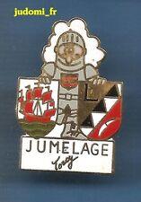 Pin's pin TORCY Seine et Marne Jumelage Armure medievale (ref 030)