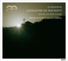 NEW - In Memoriam: Messe Notre Dame by Machaut; Musica Nova