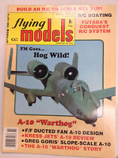 Flying Models Magazine A-10 Warthog Kress Jets' November 1993 040917nonrh2