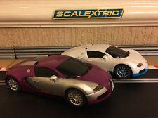 Scalextric Bugatti Veyron Twin Pack *Brand New*