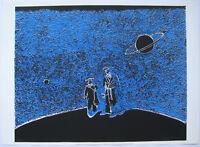 ISSERMANN ALINE SÉRIGRAPHIE 1987 SIGNÉE CRAYON NUM/200 HANDSIGNED SILKSCREEN