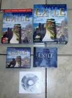 MYST III Exile PC Game Manual Strategy Guide Sound Track Big Box Win Mac VG
