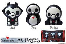 Skelanimals PVC Figurine Set Series 3 - New Unopened (Jae, Pen, Pudge)