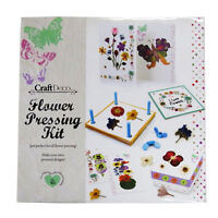 Creative Flower Pressing Kit - Make Your Own Personal Designs - Lots of items