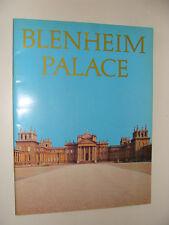 Blenheim Palace History  Guide 1984 Duke of Marlborough Spencer Churchill