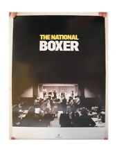 The National Poster Boxer