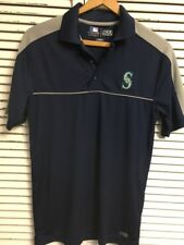 Brand New Without Tags Seattle Mariners TX3 Cool Polo Shirt Men's Small