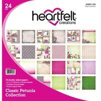 Heartfelt Creations Classic Petunia Paper Collection HCDP1-278