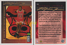 NBA UPPER DECK 1994 COLLECTOR'S CHOICE - Michael Jordan  #218 - Ita/Eng- NM