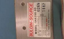 DEK Bulgin Source SAX 250-03 Power Supply