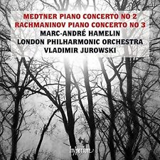 Medtner / Rachmanino - Medtner And Rachmaninov: Piano Concertos [New CD]