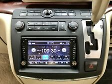 Double Din Fascia with GPS, DVD Player for 2004-2007 Nissan Elgrand E51 Series 2