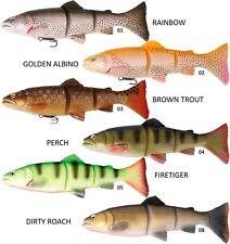 Savage Gear Line Thru Firetiger Trout Roach 40g 6inch