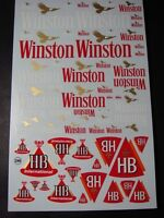 """DECALS 1/43 - 1/32 - 1/24 - 1/18 TABAC """" WIN.TON / HB """" - VIRAGES  T248"""
