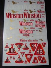 "DECALS 1/43 - 1/32 - 1/24 - 1/18 TABAC "" WIN.TON / HB "" - VIRAGES  T248"