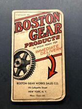 Boston Gear Catalog - 1930 - Hardware