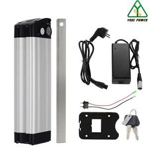 36V10Ah Lithium-ion E-Bike Batterie Fish Verrouillable avec Chargeur pour Mifa
