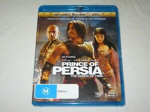 Prince Of Persia - The Sands Of Time - 2 Disc - Region B - VGC - Blu Ray