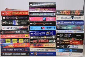 Lot of 33 Books by Iris Johansen - Eve Duncan - Mystery - Suspense - PB