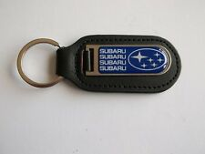 Subaru Legacey Genuine Leather / Stainless Keyring Keyfob PDQ Motorsport