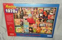 Memories Of The 1970's Toy Box 1000 Piece Jigsaw Puzzle Gibsons SEALED