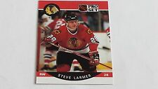 1990/91 PRO SET HOCKEY STEVE LARMER CARD #53***CHICAGO BLACKHAWKS***