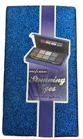 Stunning Eyes 10 Shades Eyeshadow Palette Glitter Sparkle Blue New Kit Profusion